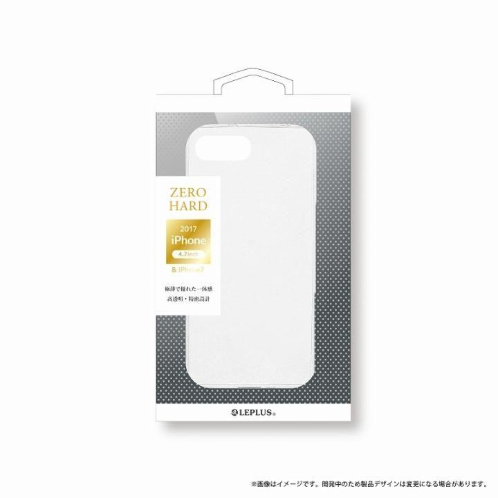 LEPLUS 超極薄ハードケース 「ZERO HARD」 クリア iPhone 8