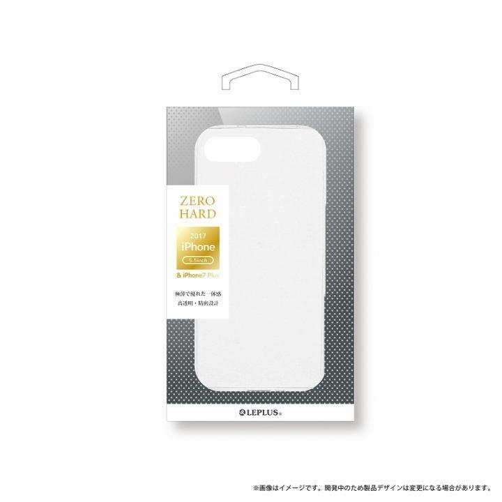 LEPLUS 超極薄ハードケース 「ZERO HARD」 クリア iPhone 8 Plus【9月下旬】