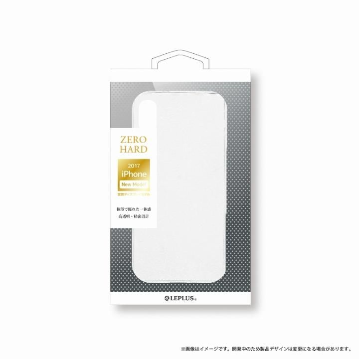 LEPLUS 超極薄ハードケース 「ZERO HARD」 クリア iPhone XS/X