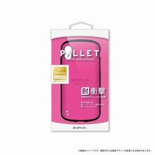 LEPLUS 耐衝撃ハイブリッドケース「PALLET」 ホットピンク iPhone XS/X