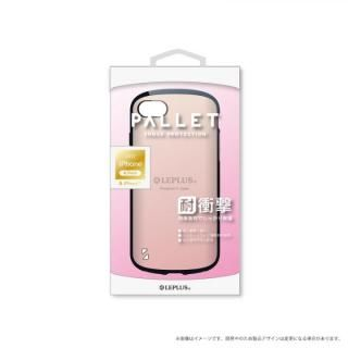 LEPLUS 耐衝撃ハイブリッドケース「PALLET」 メタルローズゴールド iPhone 8/7