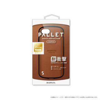 LEPLUS 耐衝撃ハイブリッドケース「PALLET Leather」 キャメル iPhone 8/7