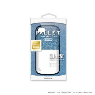 LEPLUS 耐衝撃ハイブリッドケース「PALLET Fabric」 インディゴ&ホワイト iPhone 8/7【9月下旬】