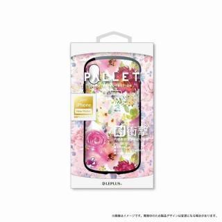 LEPLUS 耐衝撃ハイブリッドケース「PALLET Design」 フラワーピンク iPhone X【9月下旬】