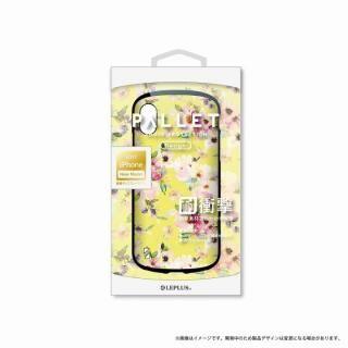 LEPLUS 耐衝撃ハイブリッドケース「PALLET Design」 フラワーイエロー iPhone X【9月下旬】
