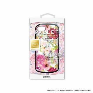 LEPLUS 耐衝撃ハイブリッドケース「PALLET Design」 フラワーピンク iPhone 8 Plus/7 Plus【9月下旬】