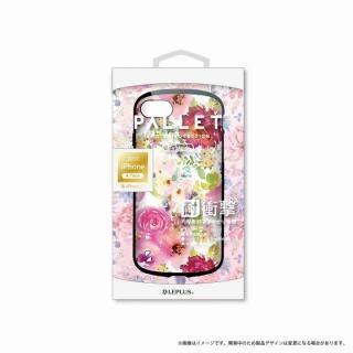 LEPLUS 耐衝撃ハイブリッドケース「PALLET Design」 フラワーピンク iPhone 8/7【9月下旬】