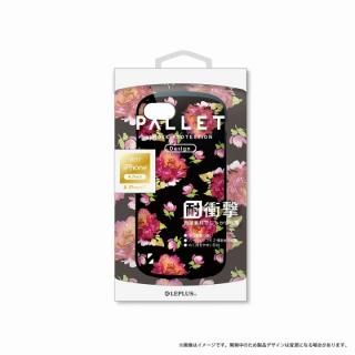LEPLUS 耐衝撃ハイブリッドケース「PALLET Design」 フラワーブラック iPhone 8/7【9月下旬】