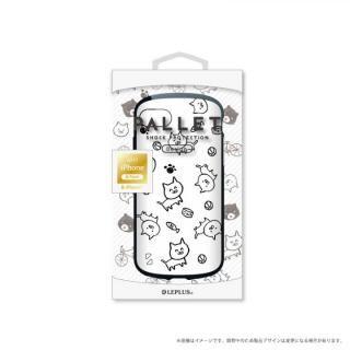 LEPLUS 耐衝撃ハイブリッドケース「PALLET Design」 ねこ iPhone 8/7