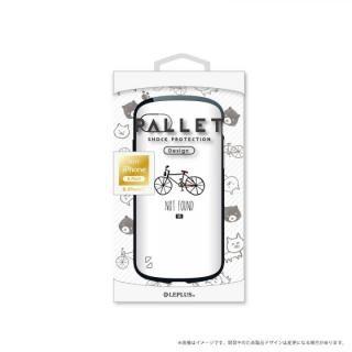 LEPLUS 耐衝撃ハイブリッドケース「PALLET Design」 自転車 iPhone 8/7【9月下旬】
