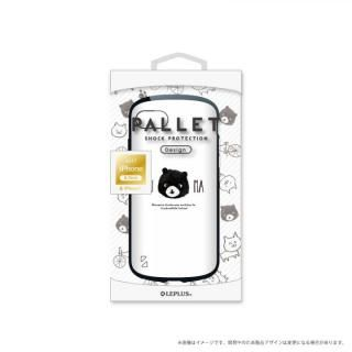 LEPLUS 耐衝撃ハイブリッドケース「PALLET Design」 くま iPhone 8/7