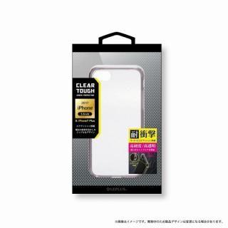 LEPLUS 耐衝撃ハイブリッドケース「CLEAR TOUGH」 クリアブラック iPhone 8 Plus/7 Plus【9月下旬】