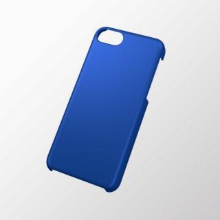 iPhone 5c用 シェルカバー(ラバーグリップ) ブルー