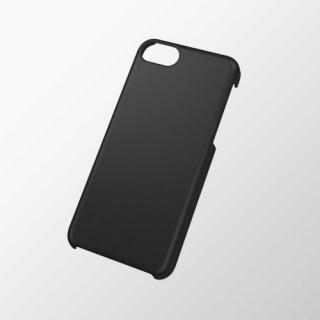 iPhone 5c用 シェルカバー(ラバーグリップ) ブラック