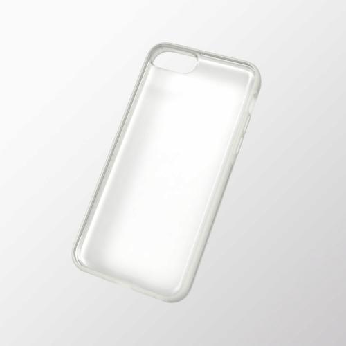 iPhone 5c用 ハイブリッドケース クリア_0