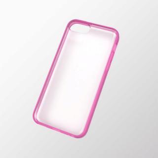 iPhone 5c用 ハイブリッドケース ピンク