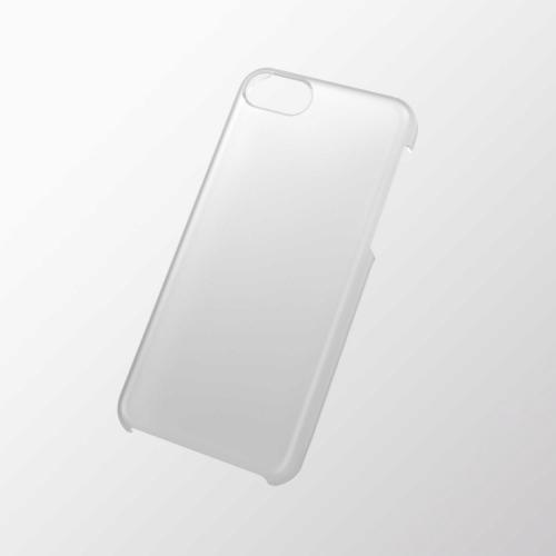 iPhone 5c用 シェルカバー(ラバーグリップ) クリア_0