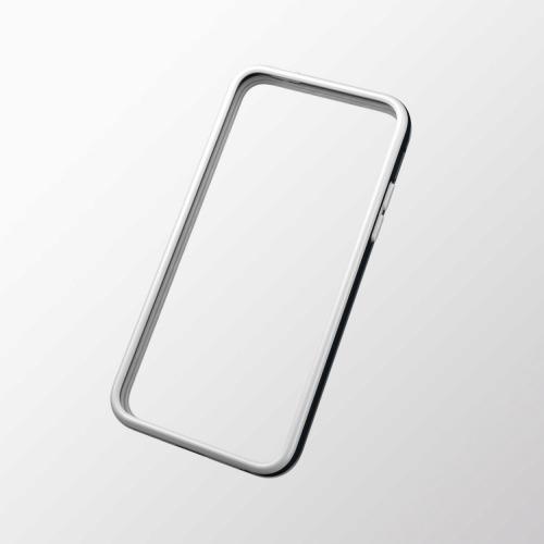 【500円】iPhone 5c用 ハイブリッドバンパー ブラック×ホワイト