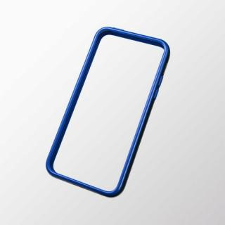 iPhone 5c用 ハイブリッドバンパー ブラック×ブルー