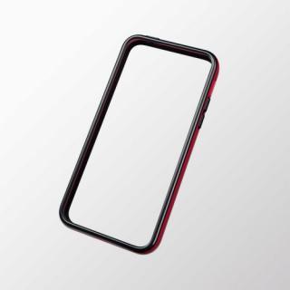 iPhone 5c用 ハイブリッドバンパー レッド×ブラック