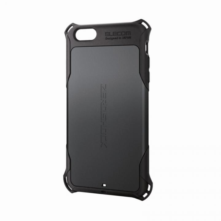 iPhone6 Plus ケース 全方向の衝撃から守る ZEROSHOCK ブラック iPhone 6 Plusケース_0