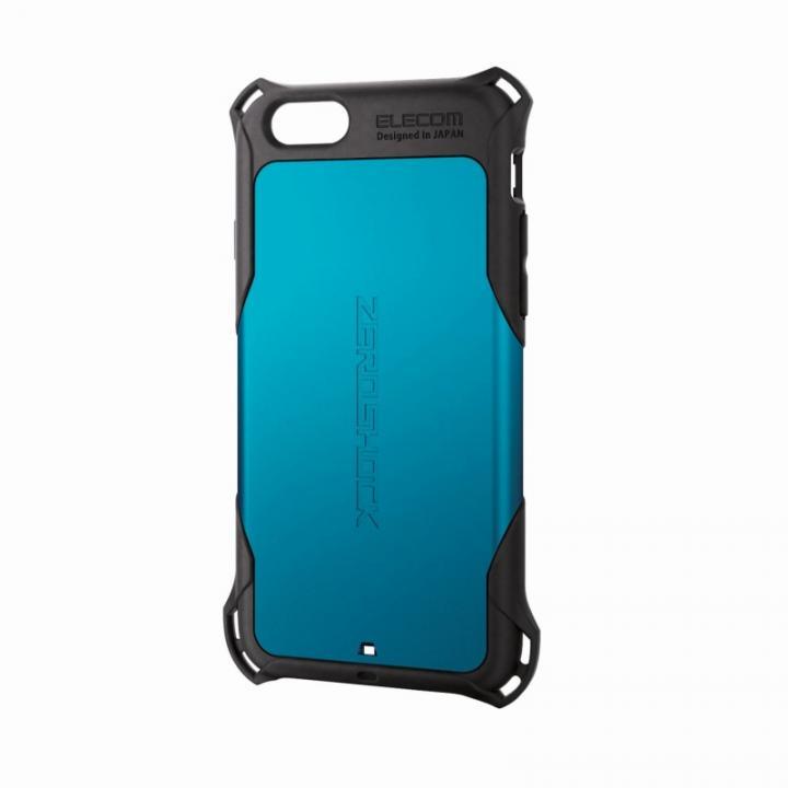 iPhone6 ケース 全方向の衝撃から守る ZEROSHOCK ブルー iPhone 6ケース_0