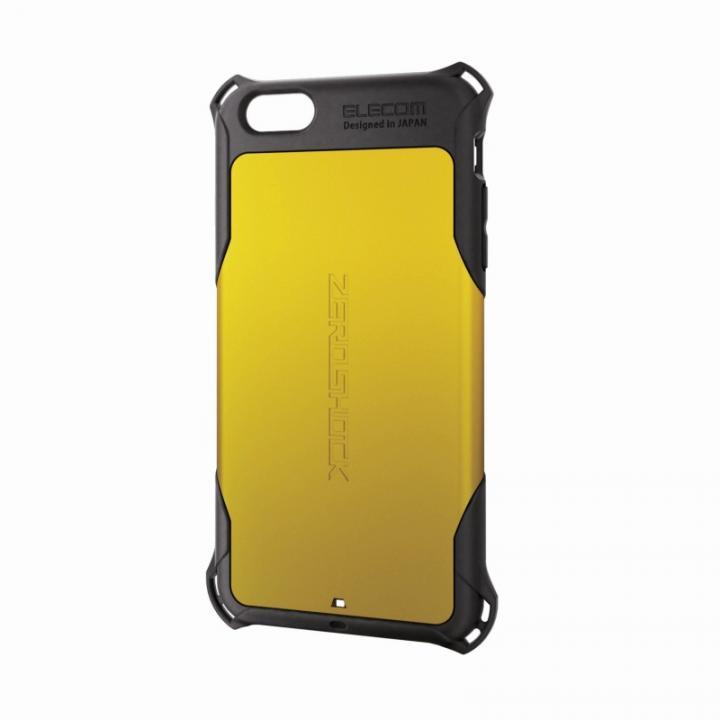 iPhone6 Plus ケース 全方向の衝撃から守る ZEROSHOCK イエロー iPhone 6 Plusケース_0