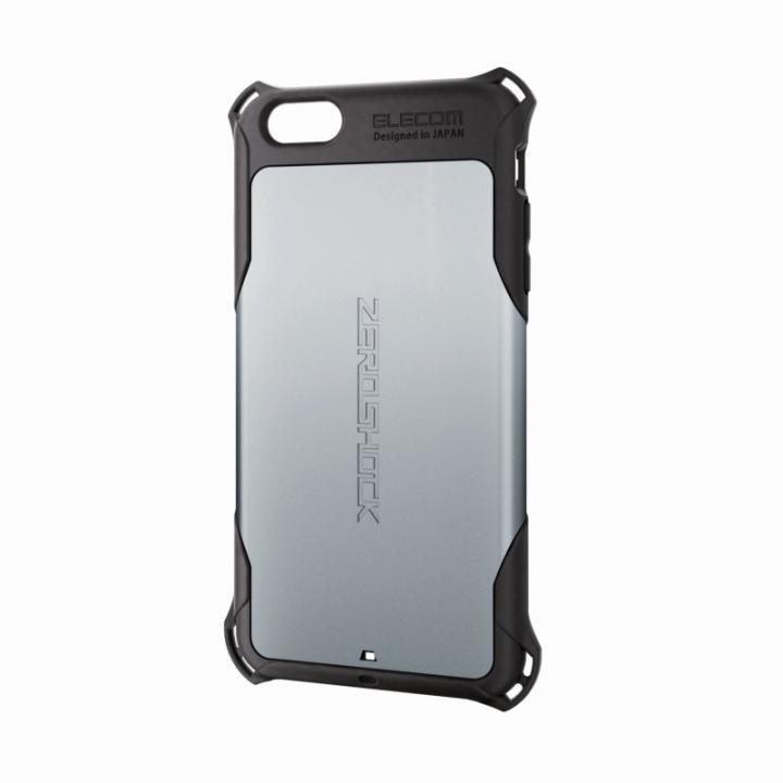 iPhone6 Plus ケース 全方向の衝撃から守る ZEROSHOCK シルバー iPhone 6 Plusケース_0