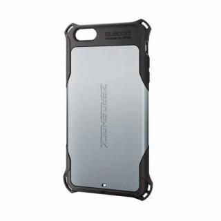 全方向の衝撃から守る ZEROSHOCK シルバー iPhone 6 Plusケース