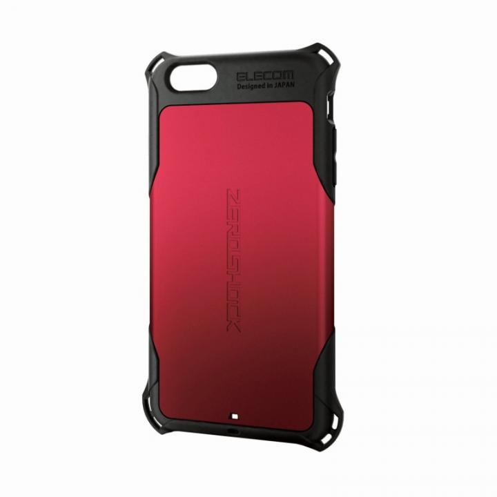 iPhone6 Plus ケース 全方向の衝撃から守る ZEROSHOCK レッド iPhone 6 Plusケース_0