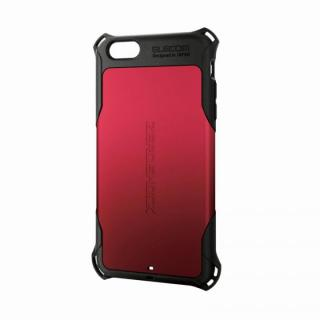 全方向の衝撃から守る ZEROSHOCK レッド iPhone 6 Plusケース