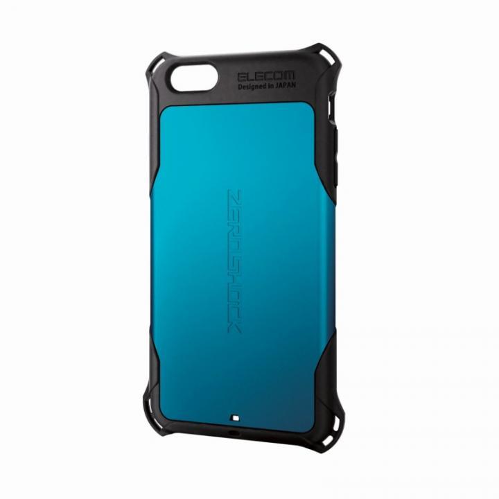 iPhone6 Plus ケース 全方向の衝撃から守る ZEROSHOCK ブルー iPhone 6 Plusケース_0