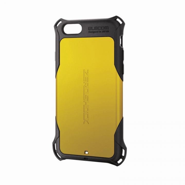 iPhone6 ケース 全方向の衝撃から守る ZEROSHOCK イエロー iPhone 6ケース_0