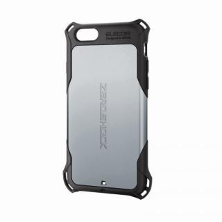 全方向の衝撃から守る ZEROSHOCK シルバー iPhone 6ケース