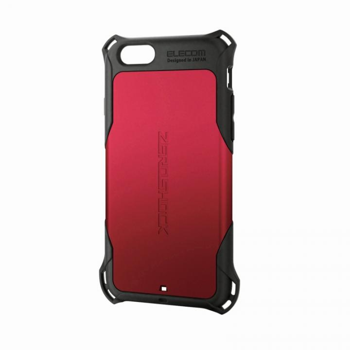 【iPhone6ケース】全方向の衝撃から守る ZEROSHOCK レッド iPhone 6ケース_0