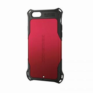 全方向の衝撃から守る ZEROSHOCK レッド iPhone 6ケース