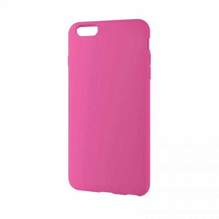 iPhone6 Plus ケース シリコンケース ノーマル ピンク iPhone 6 Plusケース_0