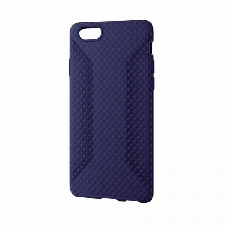 【iPhone6ケース】高いグリップ力 シリコンケース ブルー iPhone 6ケース_0