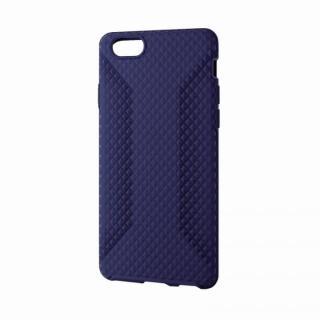 高いグリップ力 シリコンケース ブルー iPhone 6ケース