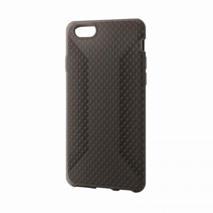 iPhone6 ケース 高いグリップ力 シリコンケース ブラック iPhone 6ケース_0