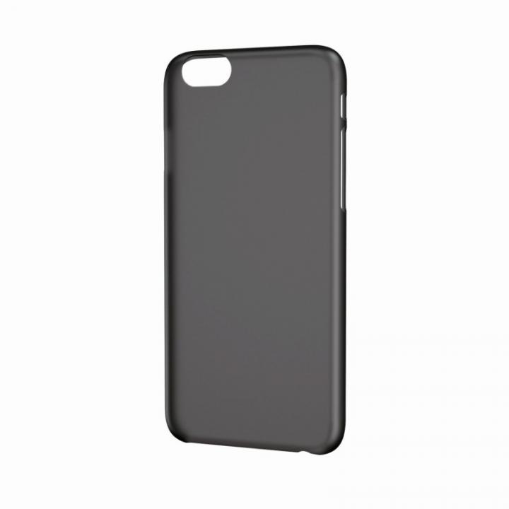 【iPhone6ケース】シェルカバー 薄型PP ブラック iPhone 6ケース_0