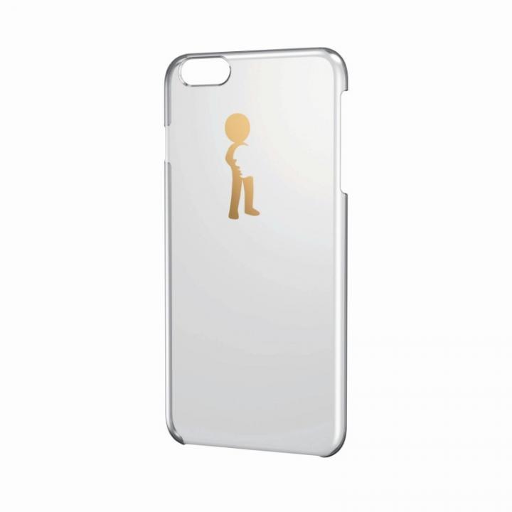 アップルテクスチャー シェルカバー パターン1 iPhone 6 Plusケース