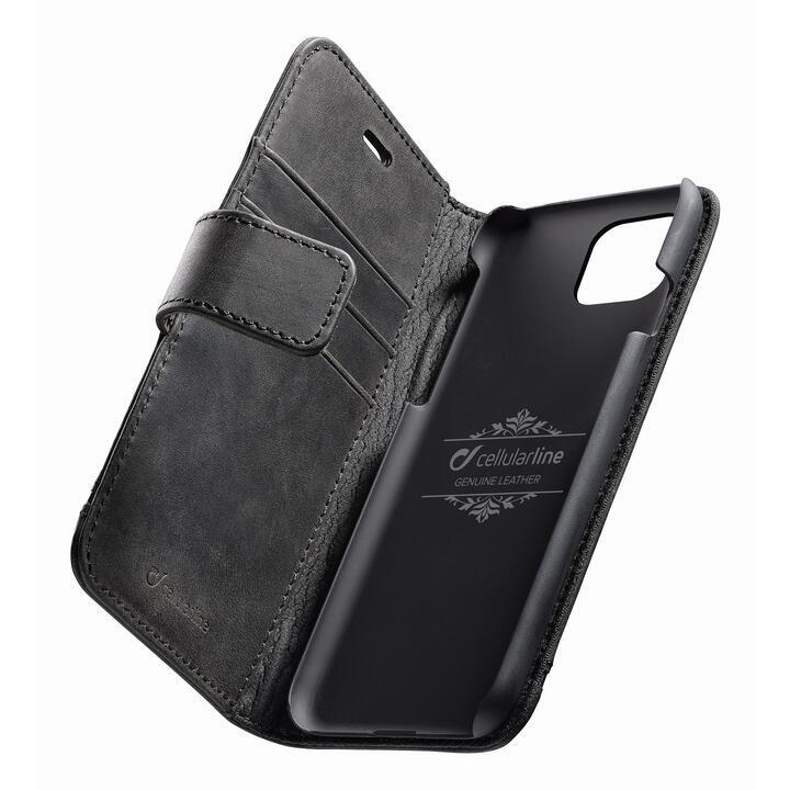 iPhone 11 Pro ケース Supreme 本革手帳型ケース ブラック iPhone 11 Pro_0