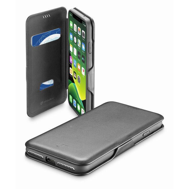 Book Clutch カード収納レザー調手帳型ケース ブラック iPhone 11_0
