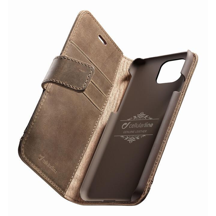 iPhone 11 Pro ケース Supreme 本革手帳型ケース ブラウン iPhone 11 Pro_0
