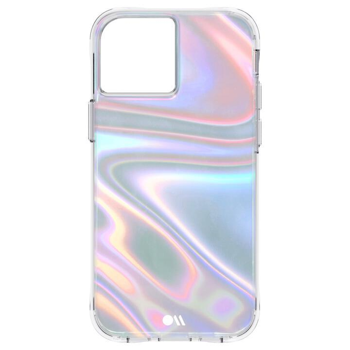 Case-Mate 抗菌・3.0m落下耐衝撃 Soap Bubble Iridescent iPhone 13 mini_0