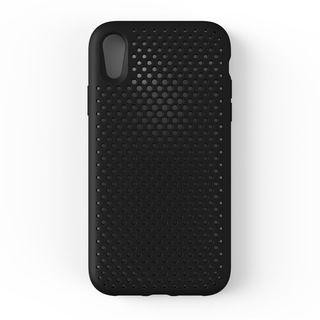 【iPhone XRケース】エラストマー AndMesh MESH CASE ブラック iPhone XR