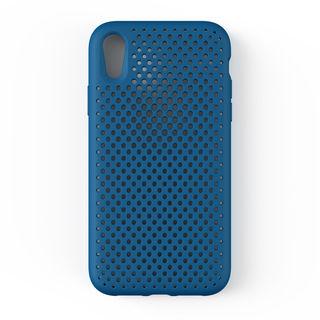 エラストマー AndMesh MESH CASE コバルトブルー iPhone XR