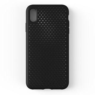 【iPhone XS Maxケース】エラストマー AndMesh MESH CASE ブラック iPhone XS Max