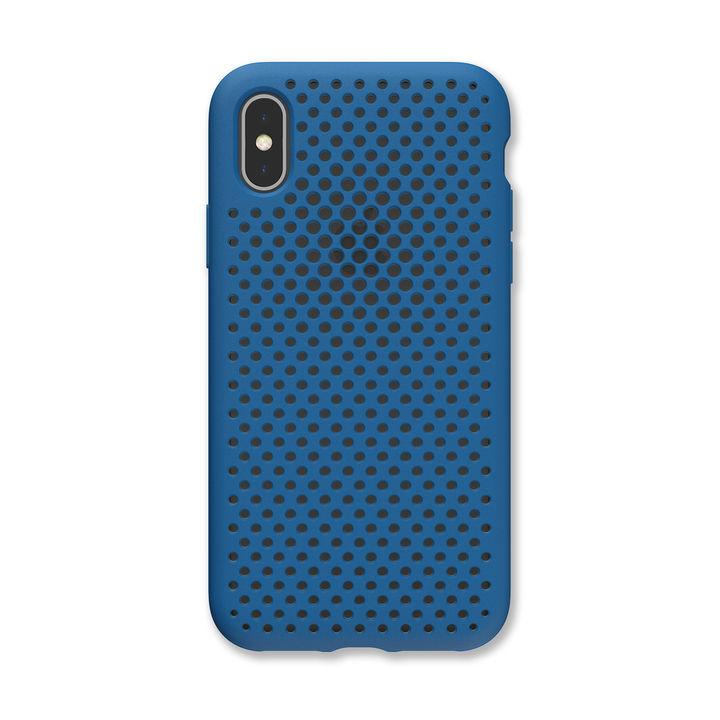 iPhone XS/X ケース エラストマー AndMesh MESH CASE コバルトブルー iPhone XS/X_0